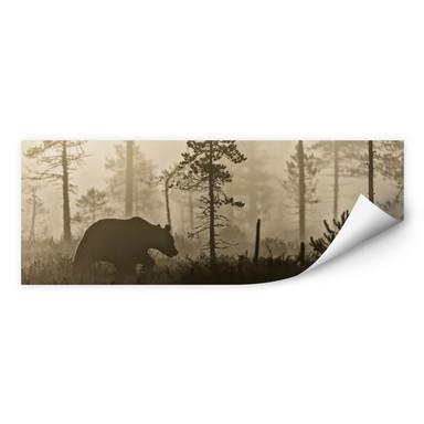 Wallprint Ove Linde - Nebel am Morgen - Panorama