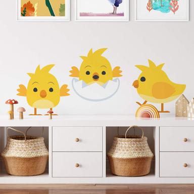 Wandtattoo Emoji Baby Küken