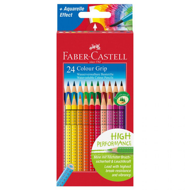 Faber-Castell Buntstifte Colour Grip 24er