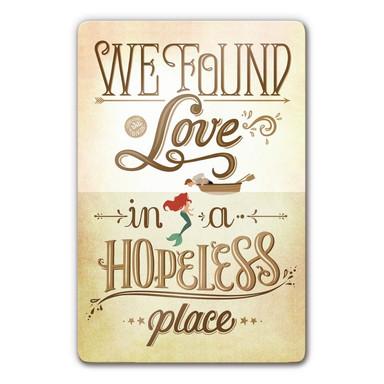 Glasbild Tohmé - We found Love