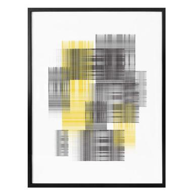 Poster Nordic Creators - Yellow grid