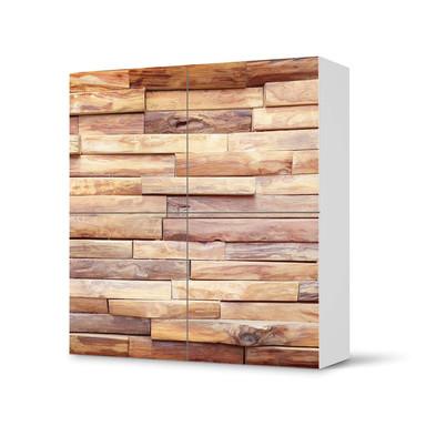 Klebefolie IKEA Besta Schrank 4 Türen - Artwood- Bild 1
