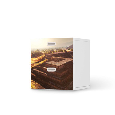 Klebefolie IKEA Stuva / Fritids Kommode - 2 Schubladen - Teotihuacan- Bild 1