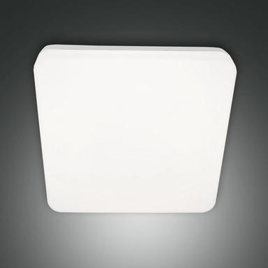 LED Deckenleuchte Folk in Weiss 27W 2150lm IP65 mit Bewegungsmelder