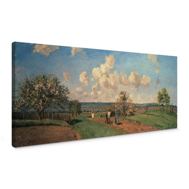 Leinwandbild Pissarro - Frühling