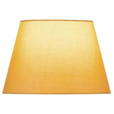 Leuchtenschirm Fenda, konisch, gelb, 300 mm