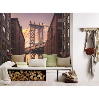 Livingwalls Fototapete Designwalls Brooklyn Bridge Stadt
