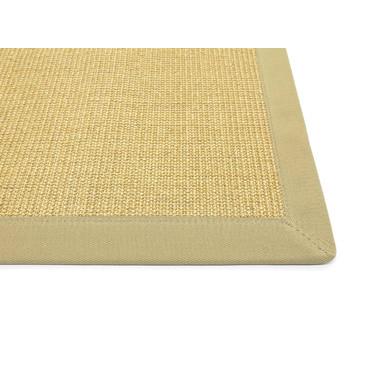 Manolo Sisal 5cm Bordürenteppich   Wunschmass   Rechteckig   Pearl Beige   Beige 02