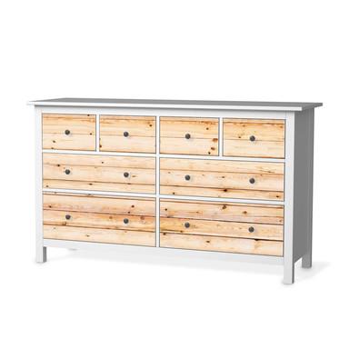 Möbelfolie IKEA Hemnes Kommode 8 Schubladen - Bright Planks