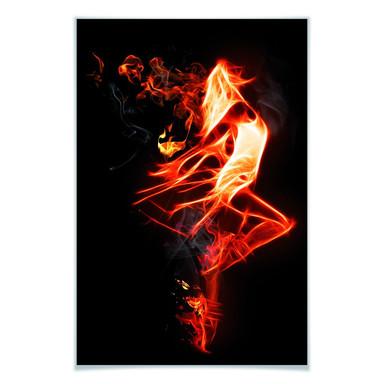 Poster Flammentänzer