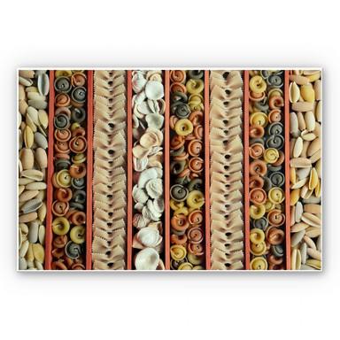Wandbild Pasta Collection