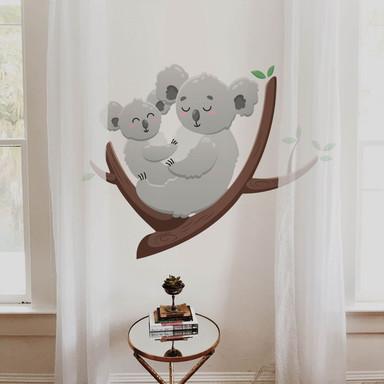 Wandtattoo Koala Mutterliebe