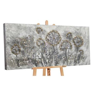 Acryl Gemälde handgemalt Frühlingsblumen 120x60cm