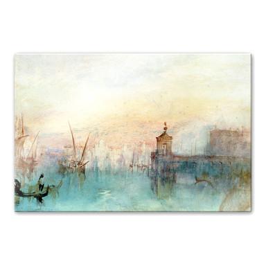 Acrylglasbild Turner - Venedig mit erster Mondsichel