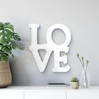 Dekobuchstaben 3D Love