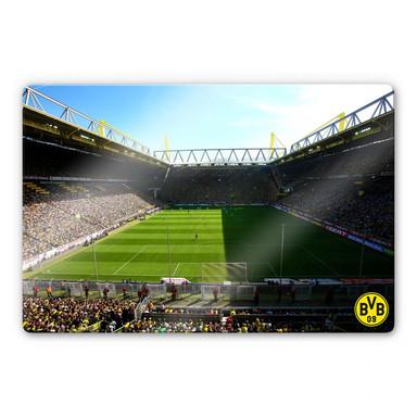 Glasbild BVB Signal Iduna Park Live Spiel