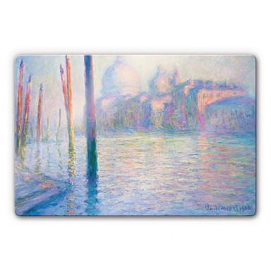 Glasbild Monet - Venedig