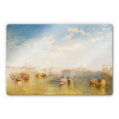 Glasbild Turner - Giudecca, La Donna Della Salute und San Giorgio