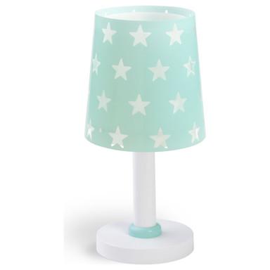 Kinderzimmer Tischleuchte Stars in Grün E14