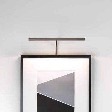 LED Bilderleuchte Mondrian in Bronze 4.8W, 161lm Rahmenmontage