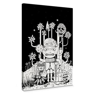 Leinwandbild Drawstore - In the Woods