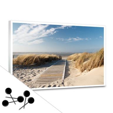 Pinnwand An der Ostsee inkl. 5 Pinnadeln