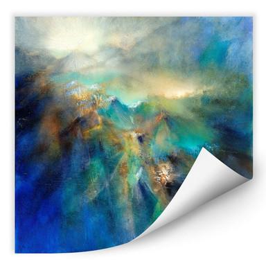 Wallprint Schmucker - Über den Berggipfeln
