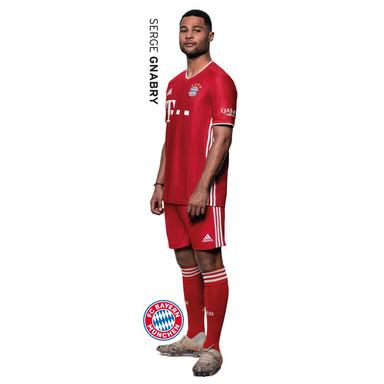 Wandsticker FCB Serge Gnabry