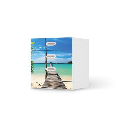 Folie IKEA Stuva / Fritids Kommode - 3 Schubladen - Blue Water- Bild 1