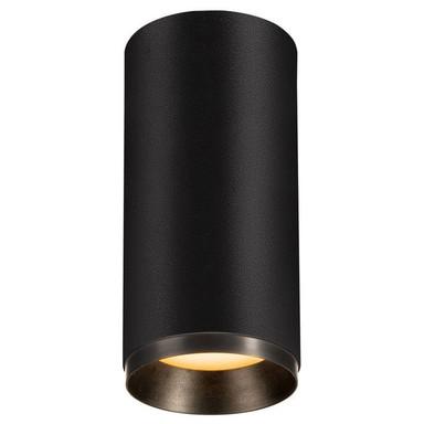 LED Deckenspot Numinos in Schwarz 20.1W 1925lm 2700K 24°