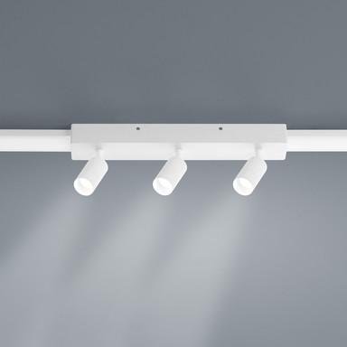 LED Lichtschienen Spot Vigo in weiss-matt 3x4W 1080lm Endelement