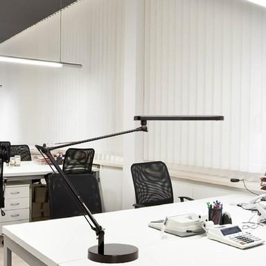 LED Schreibtischleuchte Mambo 7W 500lm 3000K in Schwarz