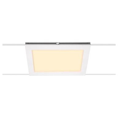 LED Seilsystemleuchte Tenseo in Weiss 9.8W 750lm