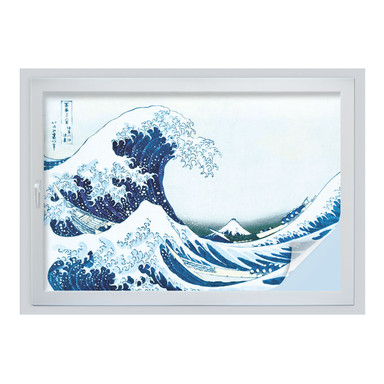 Sichtschutzfolie Hokusai - Die grosse Welle