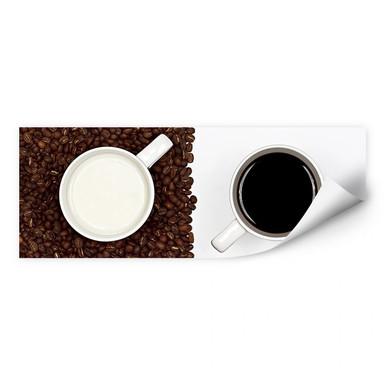 Wallprint Lavsen - White Espresso - Panorama