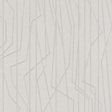 A.S. Création Vliestapete Emotion Graphic Tapete gestreift grafisch grau