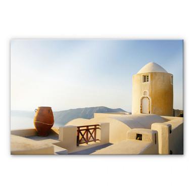 Acrylglasbild Mediterrane Aussicht
