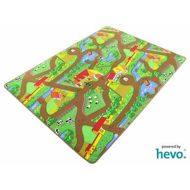 Mein Dorf HEVO ® Strassen Kinderteppich verschiedene Grössen