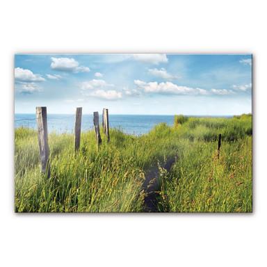 Acrylglasbild Weg zum Meer