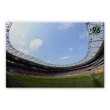 Alu-Dibond Bild Hannover 96 - Stadion Innenansicht