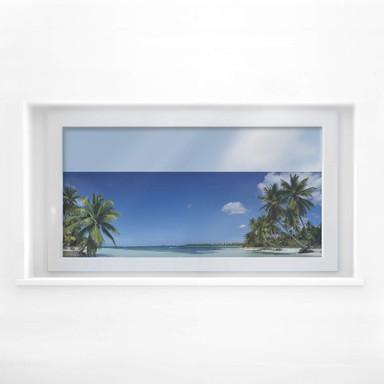 Fensterbild Paradise