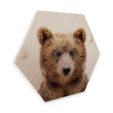 Hexagon - Holz Sisi & Seb - Bärenjunges