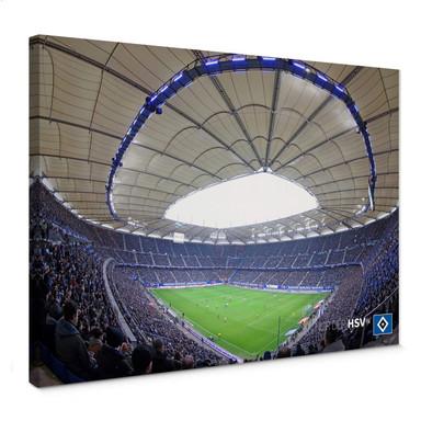 Leinwandbild HSV Arena