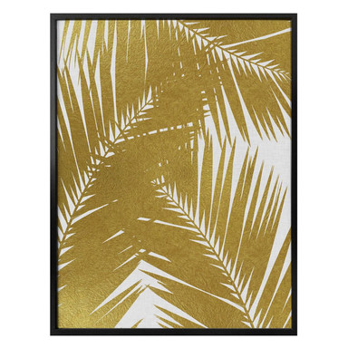 Poster Orara Studio - Palm Leaf Gold