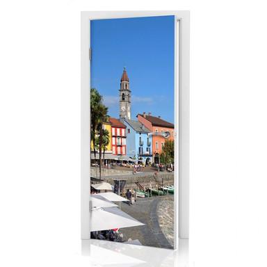 Türdesign Hafenpromenade am Lago Maggiore - Bild 1
