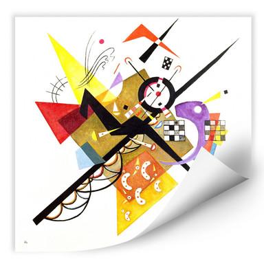 Wallprint Kandinsky - Auf Weiss II