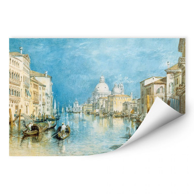 Wallprint Turner - Venedig, Canale Grande
