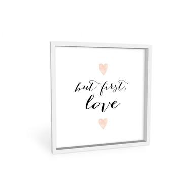 Wandbild Confetti & Cream - But first Love