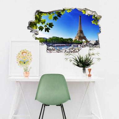 3D Wandtattoo Summer in Paris