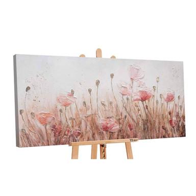 Acryl Gemälde handgemalt April 140x70cm